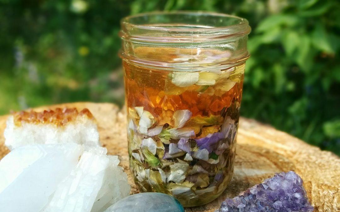 How to make wood violet honey video