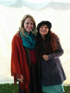 Full Circle Herbals, Erin LaFaive with Rosemary Gladstar 2016