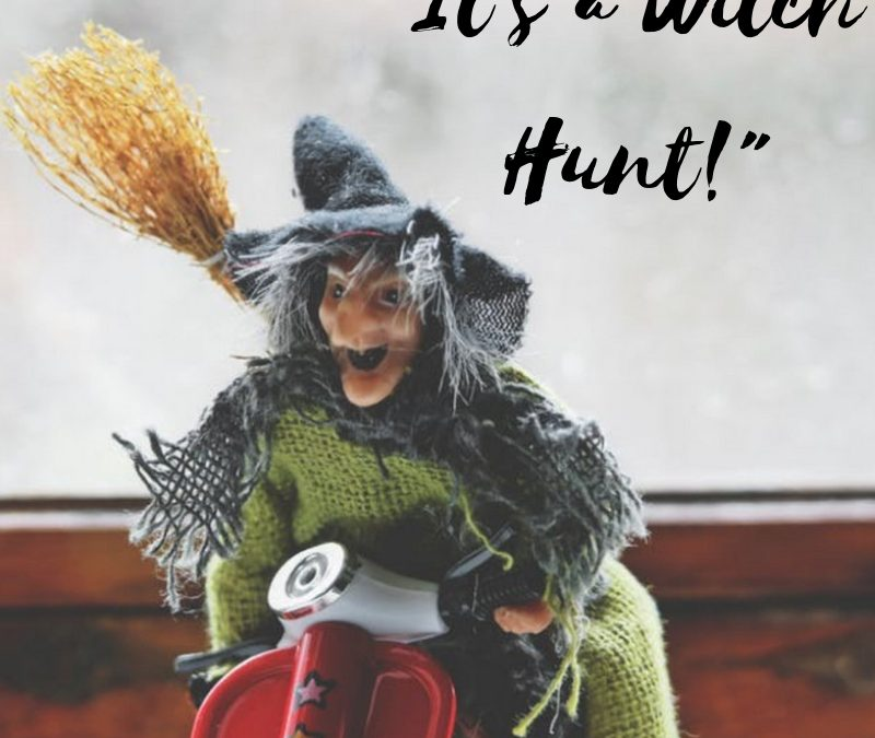"""""""It's a Witch Hunt"""""""