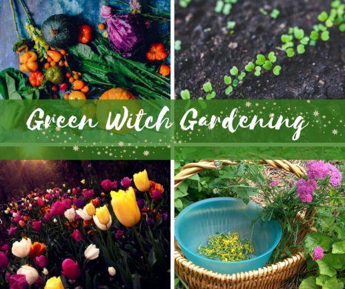 Green Witch Gardening