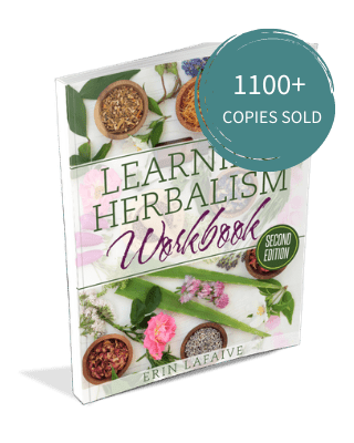 herbalism workbook - 1100 copies sold