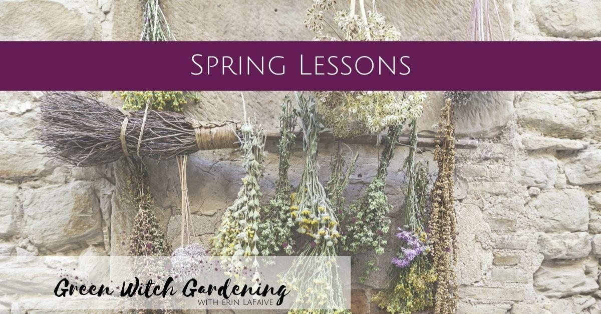 spring lessons
